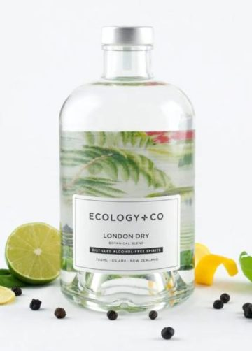 Ecology and Co distilled alcohol-free spirits